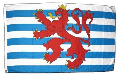 XXL Flagge Fahne Luxemburg Löwe 150 x 250 cm