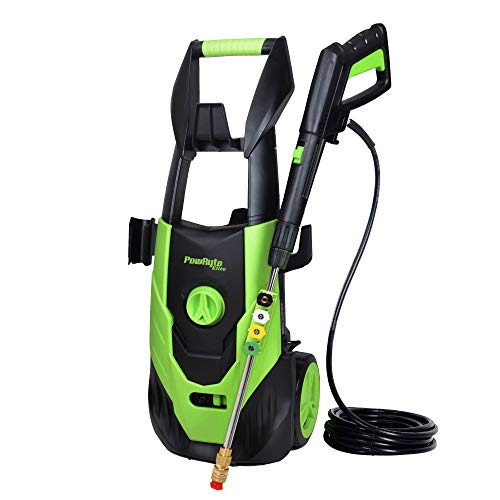PowRyte Elite Electric Power Washer 4500PSI 3.5GPM, Electric Pressure Washer with 5pcs 1/4'' Universal Spray Nozzles