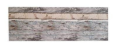 materiales: MDF y papel pintado imitación a madera. Medidas: 160cmX48cmX12 milimetros(Ancho,alto,grueso) Acabado: imitacion a madera vintage