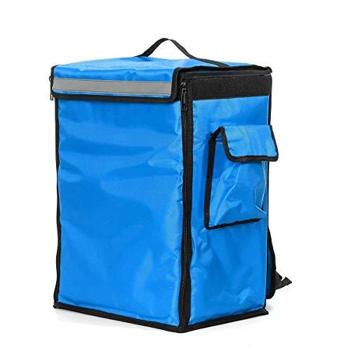 WJBABJ Picknick-Rucksack Tragbare 42L Pizza Food Delivery Tasche Thermal Insulated Bag zum Mitnehmen Lieferung Rucksack Folding Isolierung Packung Picknickkühltaschen (Color : Blue)