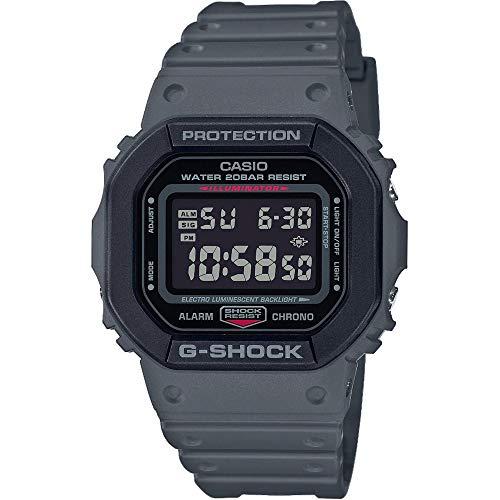Casio Reloj Digital para de los Hombres de Cuarzo con Correa en Resina DW-5610SU-8ER