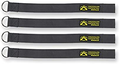 Crossover Symmetry Squat Rack Straps - Compatible with Crossover Cord Shoulder Resistance Bands