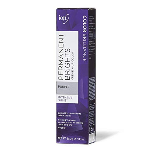 Ion Permanent Brights Creme Hair Color, Purple