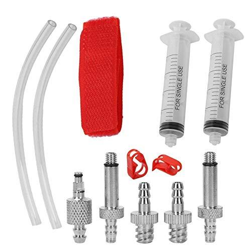 YUNJINGCHENMAN Bicicletas Reparación Herramientas Kits Bicicletas Hidráulicas Disco de Freno Aceite Sangría Reparación Kit Herramientas Básicas Accesorios de Reparación
