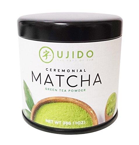 Ujido Japanese Ceremonial Grade Matcha Green Tea, 30g (1oz)