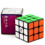 cuberspeed YJ Yulong V2 M 3x3 Black Speed Cube YJ Yulong 2M Magnetic Cube Puzzle