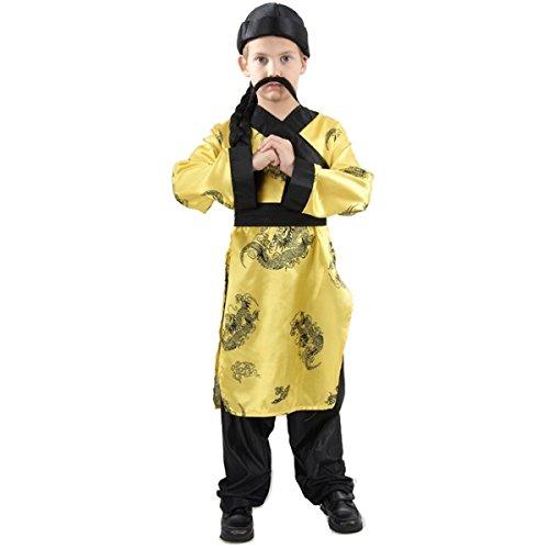 Déguisement chinois garçon 4 à 6 ans