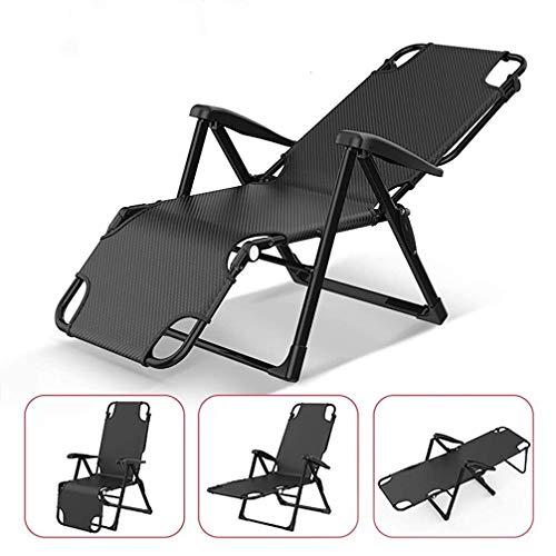 4 Schnüre LAFUMA schwarze Farbe elastisches Im Freien Stuhl Liege RSX und RSX XL