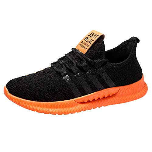 Sneakers For Fashion Men Walking Casual Shoes Breathable Lace Up Running Shoes