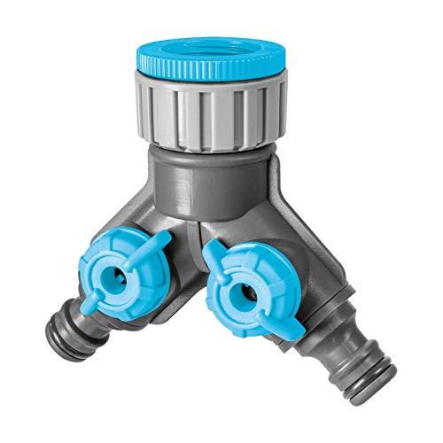 Cellfast Zweifach, Verteiler, 12,5 x 5,5 x 15 cm, blau, CF52-220