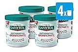 Sanytol - Quitamanchas Desinfectante en Polvo, sin Lejía, Pack [ 4 x 450 gr], Total: 1800 gr