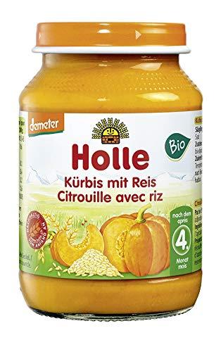 Holle Bio Kürbis mit Reis (6 x 190 gr)