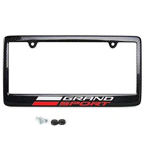 Corvette License Plate Frame - Carbon Fiber : C7 Grand Sport