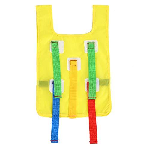 VGEBY1 Kleverig vest, kleverig ombouwen doelvest spel trainingsvest in de vrije natuur voor kinderen