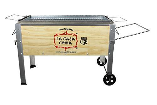 LA CAJA CHINA Jr 40 lbs Roaster, Small, Wood