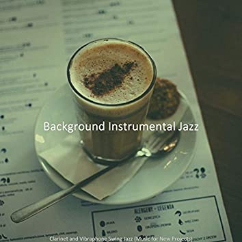 Clarinet and Vibraphone Swing Jazz (Music for New Projects)