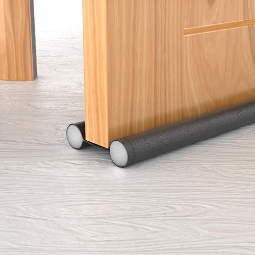 H HOMEWINS 3er Zugluftstopper für Türen 88 cm Türdichtung Schneidbar Windstopper Energiesparende Bodendichtung gegen Zugluft, Lärm und Kälte