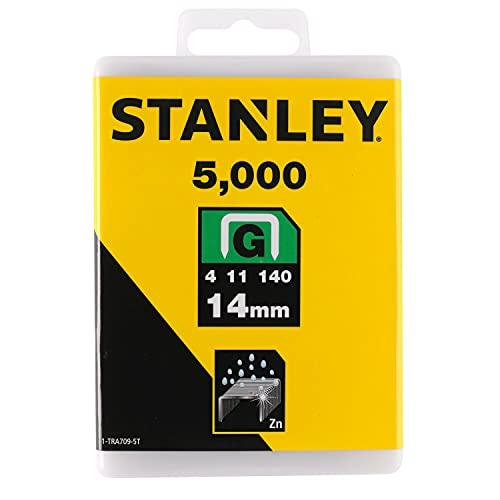 Stanley 1-TRA709-5T - Pack de 5000 grapas tipo G (14 mm)