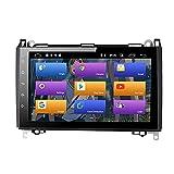 BOOYES para Mercedes-Benz W169 W245 B160 B170 B180 B200 W639 Vito Viano W906 Sprinter VW Crafter Android 10.0 Radio para auto Estéreo GPS 9 'Reproductor multimedia para auto Reproducción automática