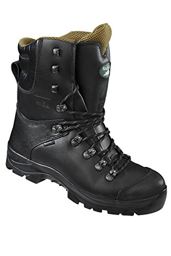 Rock Fall Kevlar Lining Steel Toe Chainsaw Boots