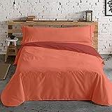 Lois Juego de Funda nórdica Ibiza 100% algodón - Color Caldera C8 - Cama 90 Cm