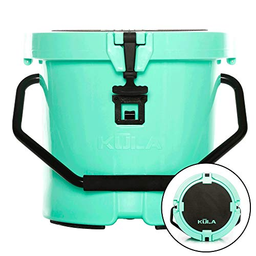 KULA Cooler 5 | Lightweight Cooler with Strong Insulation & HD Construction, 5 Gallon, Seafoam