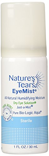 Eye Drops and Mist for Dry Eye | 1 Oz | Pack of 2 | Nature