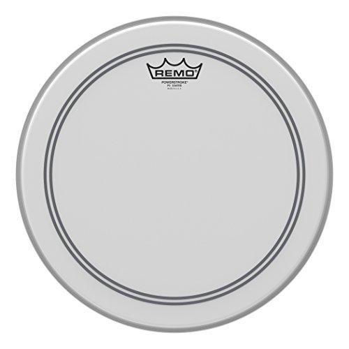 Remo Schlagzeugfell Drum Head Powerstroke 3 weiss aufgeraut, coated 14