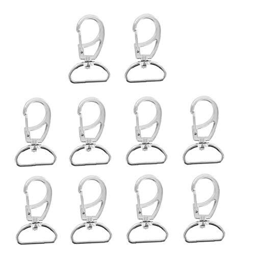 10pcs -Haken-Haken-schwenker-Trigger-karabinerhaken D-Ring Für Schlüsselanhänger Kleine Hundeleinen Hängend