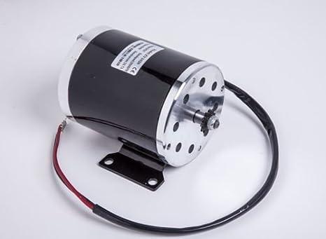 500W 24V DC motor eléctrico cepillo Zy1020W Base f EScooter para bicicleta Kart DIY Proyecto