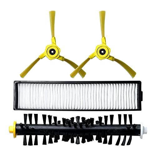 ZRNG Cepillo principal Cepillo de trapeador de tela de trapeador Filtro FIT FOR para LG HOM BOT VR6270LVM VR65710 VR6260LVM Serie Robot Accesorios de aspiradora La instalación es simple y fácil de usa
