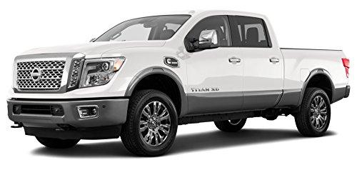 2017 Nissan Titan XD Platinum Reserve, 4x2 Diesel Crew Cab, Pearl White
