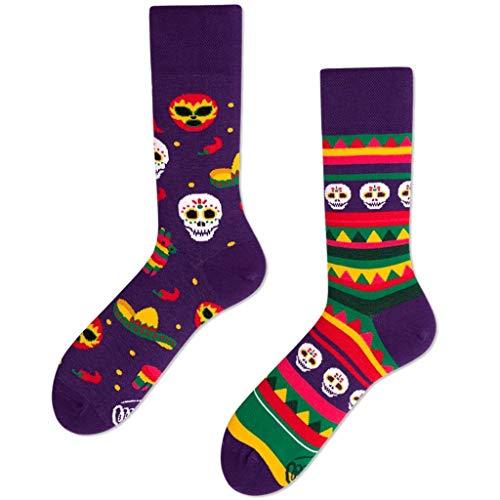 Many Mornings unisex Socken Fiesta Mexicana (43-46)
