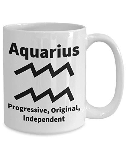 N\A Taza astrología Signo del Zodiaco Acuario