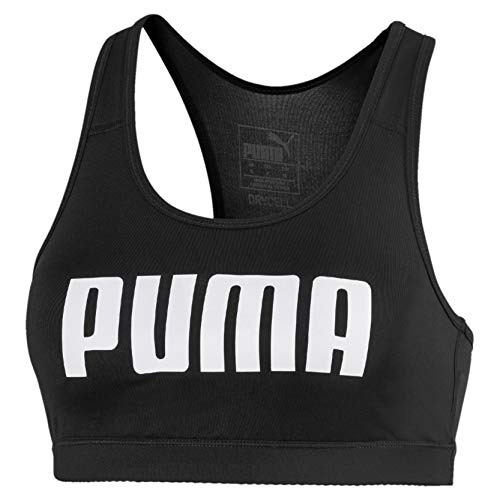 PUMA Women's 4Keeps Bra PM, Black, XS