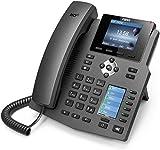 Fanvil X4 Nero Cornetta cablata 4linee LCD Telefono IP