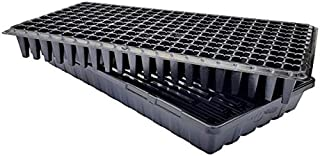 200 Cell w/ 1020 Flat Seedling Starter Trays Extra Strength 5 Pack Combo - Seed Planting Insert Plug Tray, Soil & Hydroponics Plant Growing Plugs by Bootstrap Farmer