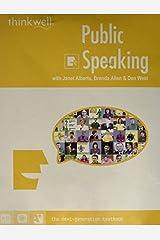 Public Speaking by Jess K. Alberts (2000-08-02) CD-Rom