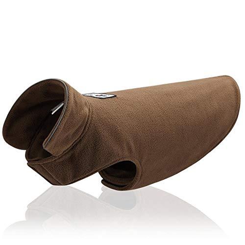 FSSSMSS Hondenfleece met vest aan beide zijden, XXL, Camel/fleece