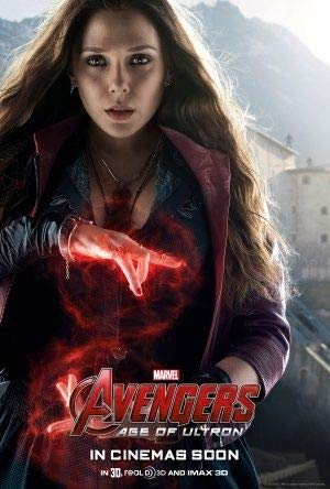 The Avengers : Age of Ultron - Scarlet Witch - US Imported Movie Wall Poster Print - 30CM X 43CM
