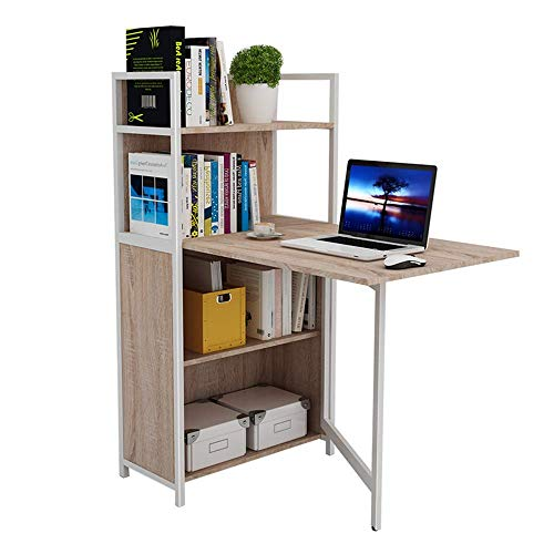 N/Z Daily Equipment Solid Wood Book Table Folding Table Computer Bookcase Office Color Optional