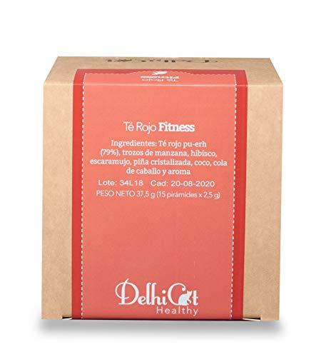 Té Rojo Fitness Delhicat Healthy 15 Unidades