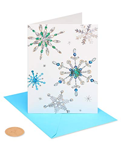 Papyrus Holiday Boxed Cards, Snowflake (14-Count), 1 EA (6389616)