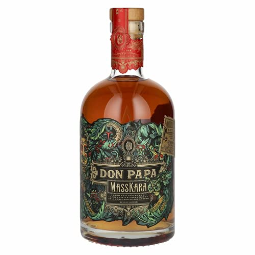 Don Papa MASSKARA Aged Philippine Rum 40,00% 0,70 lt.