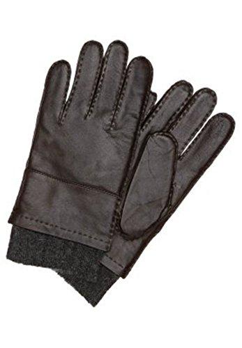 BOSS BLACK Gant hosko couleur Marron 240 - Marron -