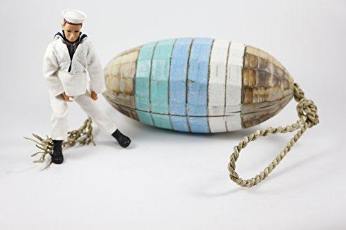 Boya baliza Pared Cuerda Madera náutica Decoración