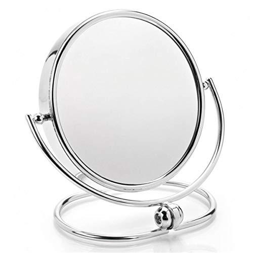 miroir grossissant pour la table 2 faces dont une avec effet loupe grossissant 5 fois