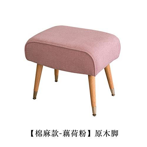 LKU sofakruk Ultralicht Scandinavisch retro voetenbord kinderen kinderstoel woonkamer kleine salontafelsofa, 7