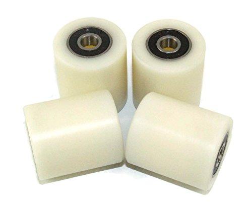 Smart Machines - Rodillos de nailon mecanizado, 35mm de diámetro, 40 mm Wide, 4