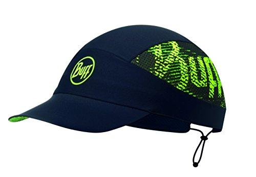 Buff Pack Run Cap + UP Ultrapower Tissu Tubulaire   Bonnet avec visière   Pliable   Odeur résistant   Protection UV, R-Flash Logo Black - 113706.999.10.00